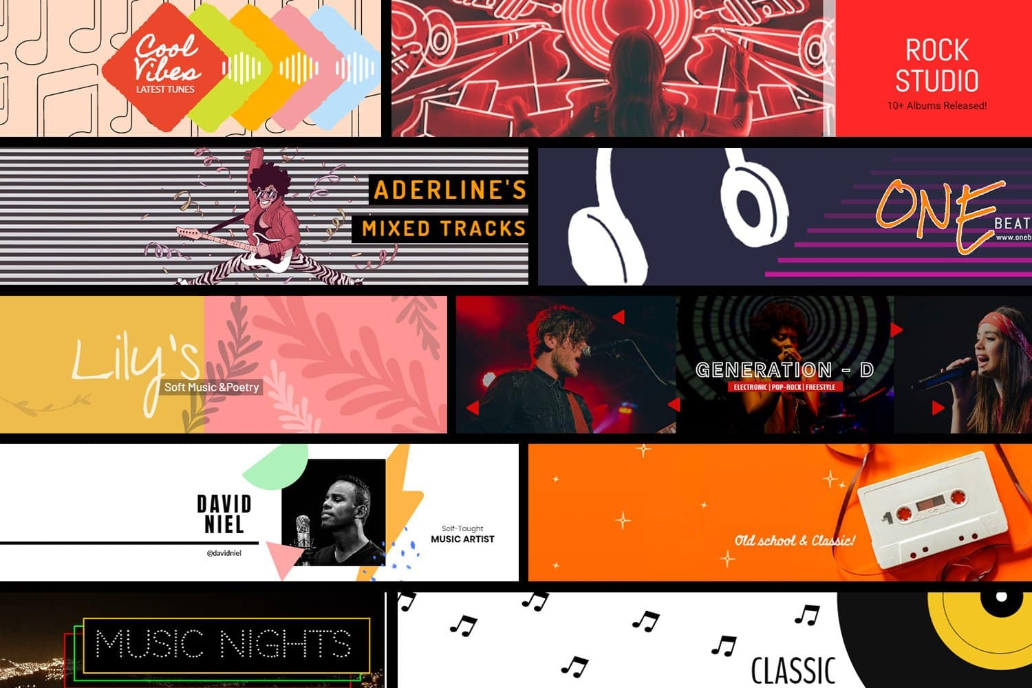 Collage-of-Pixelied-Soundcloud-Templates