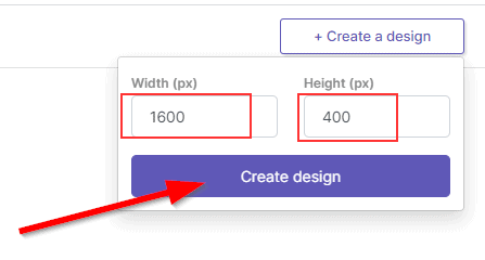 Patreon banner size in Pixelied