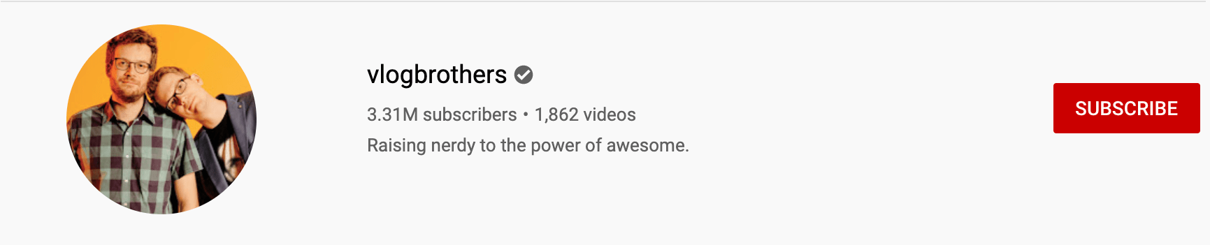 vlogbrother's profile picture
