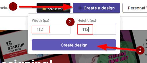 Pixelied custom dimension screenshot