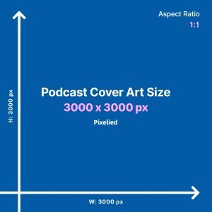 Podcast Cover Art Size