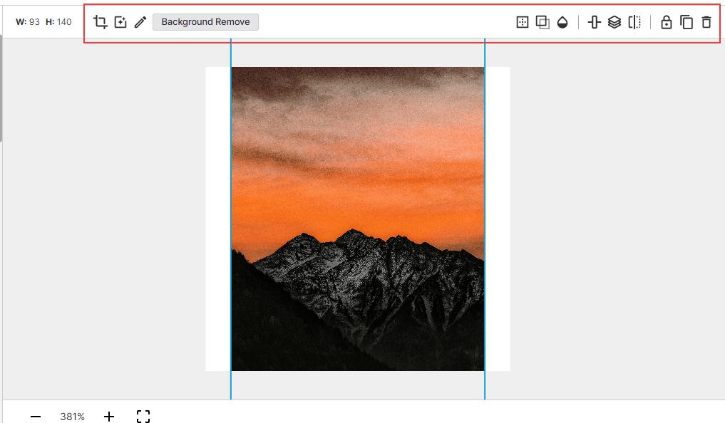 Pixelied editor screenshot