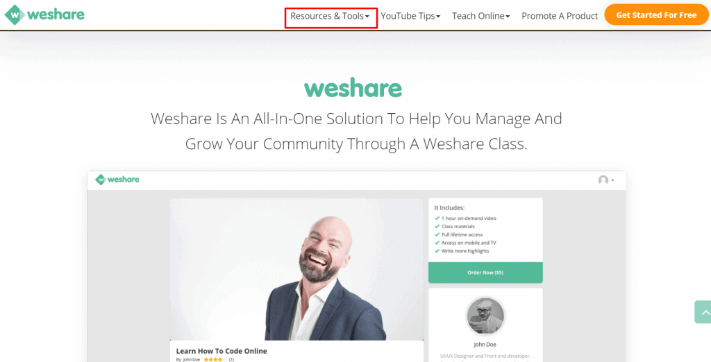 weshare