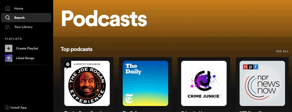 spotifypodcastlist