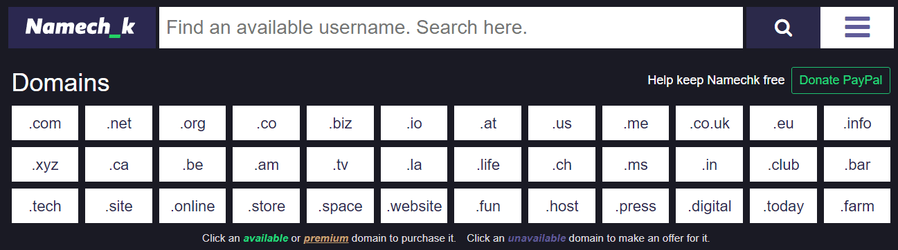 NameChk-Domain-Checker-Tool
