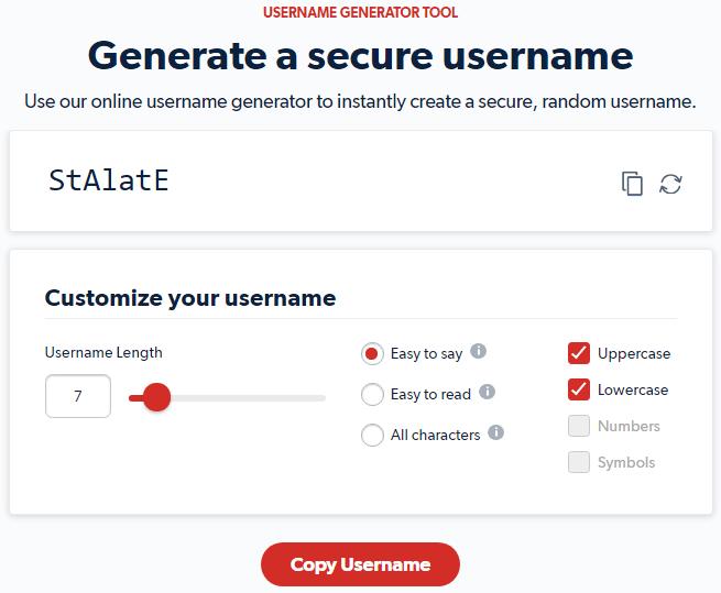 LastPass-Username-Generator