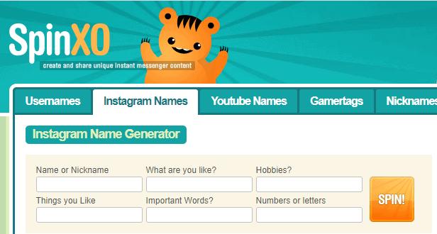 SpinXO-Instagram-Name-Generator