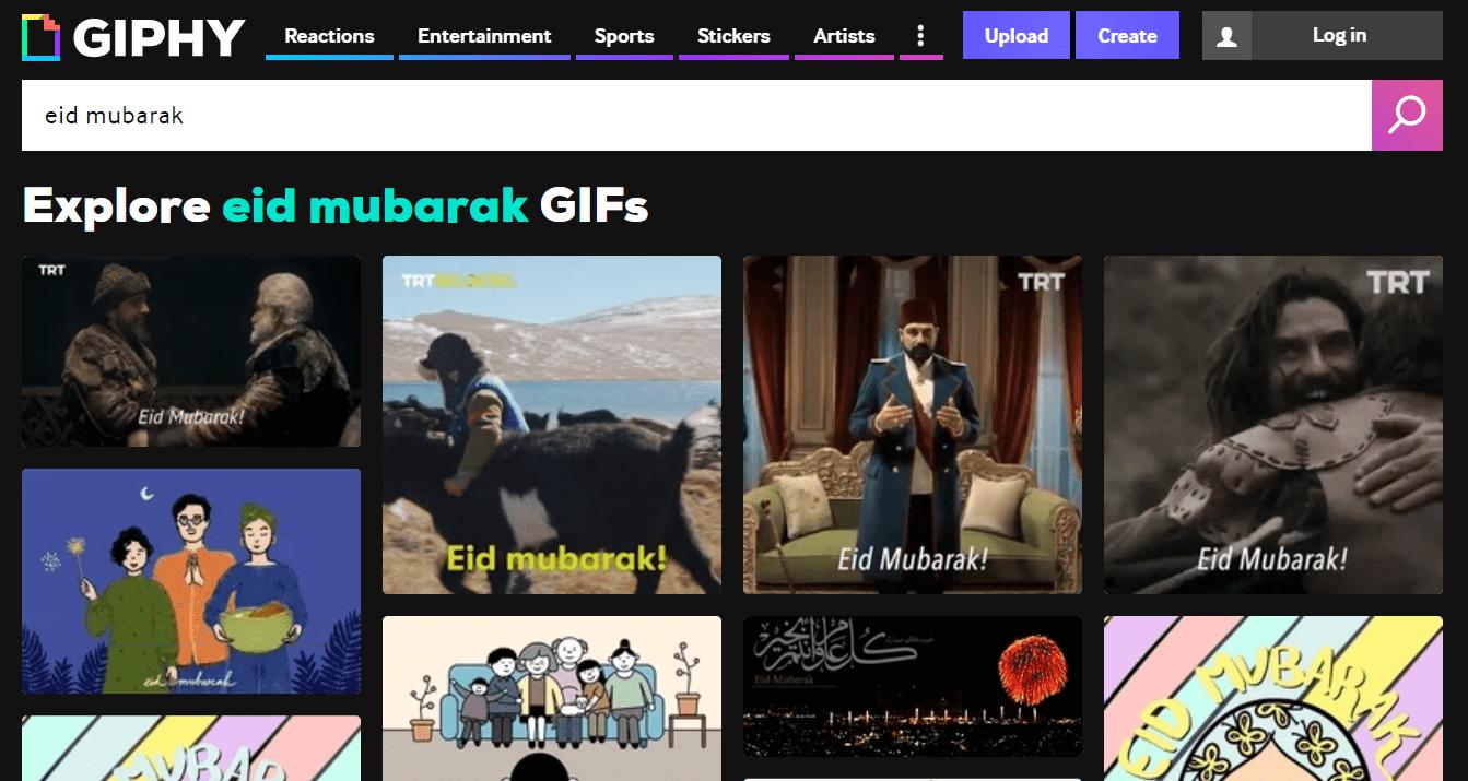 Giphy Eid Mubarak GIFs