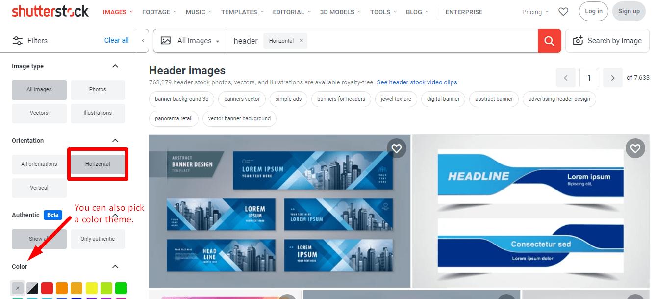 Shutterstock-Filters