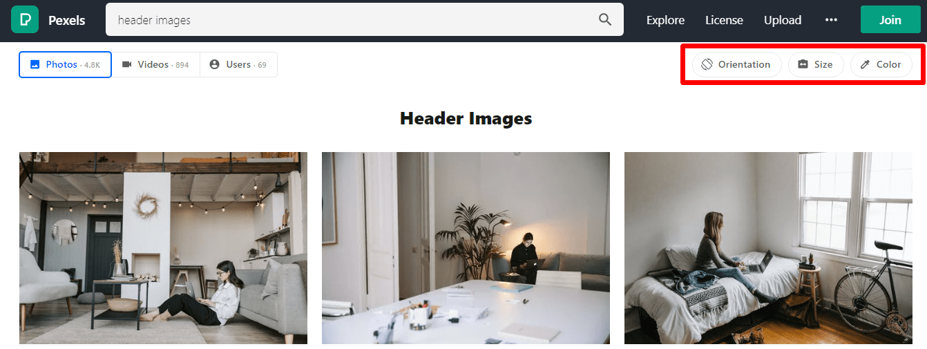 Pexels-Filters