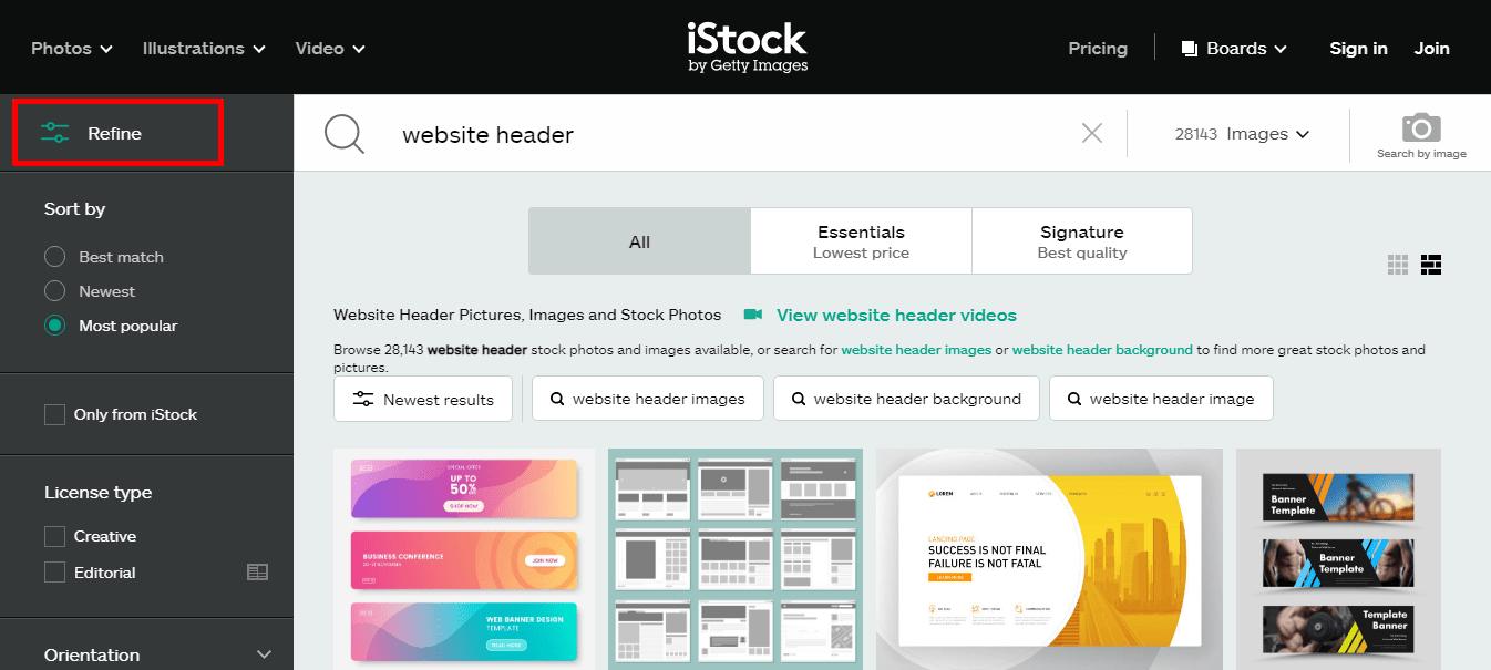 iStock-Filters