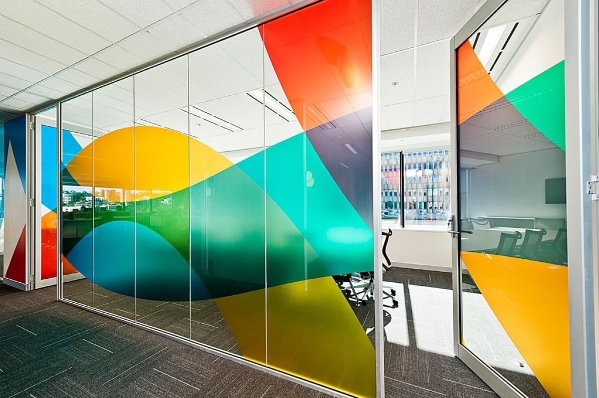 Glass Door Wall Graphics EGD