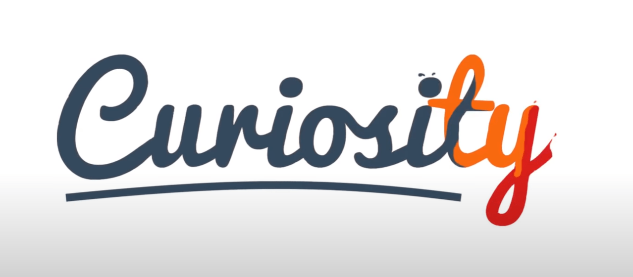 Curiosity Kinetic Typography Pixelied
